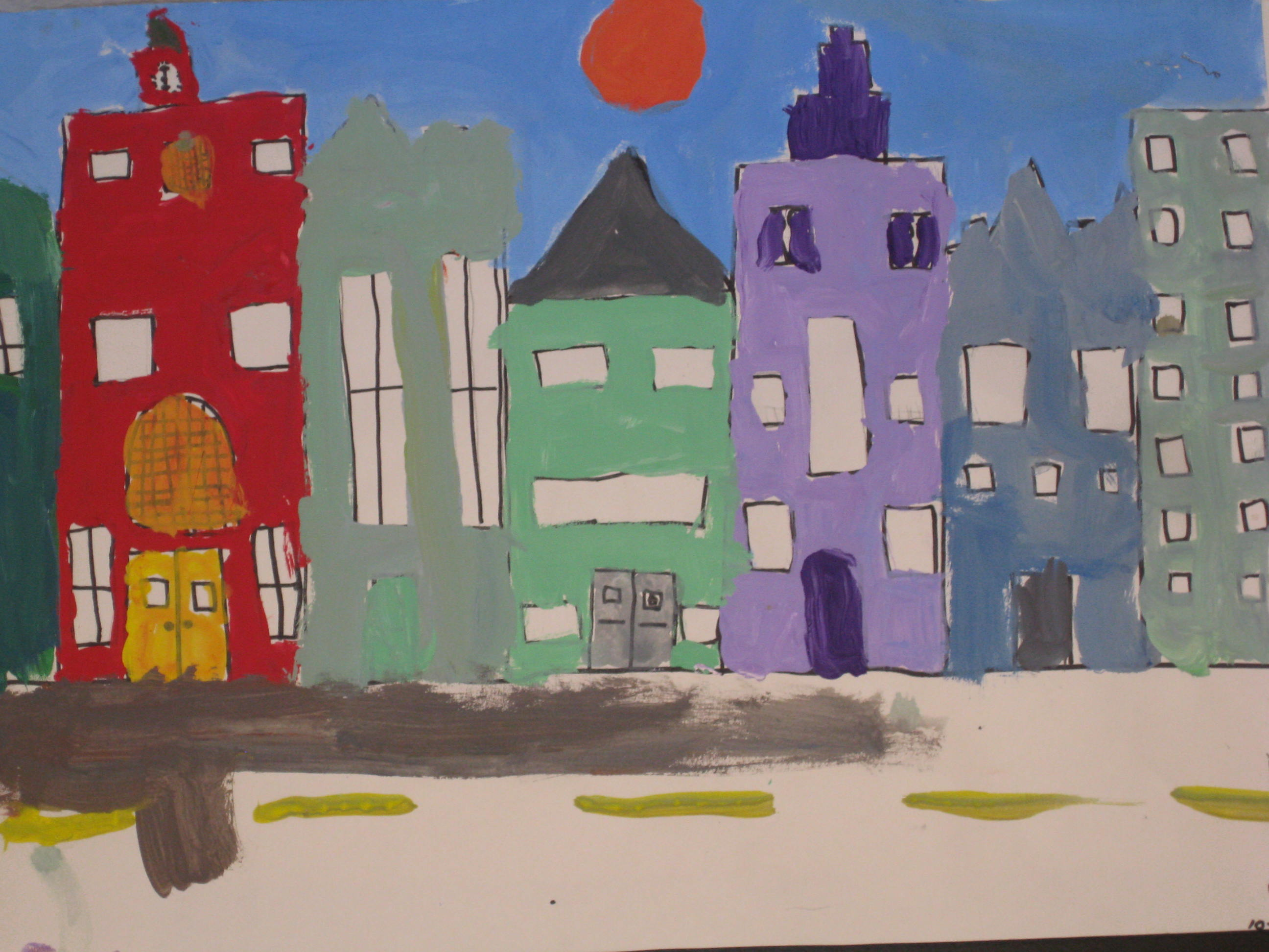 packet #10. cityscapes – evergreen art discovery
