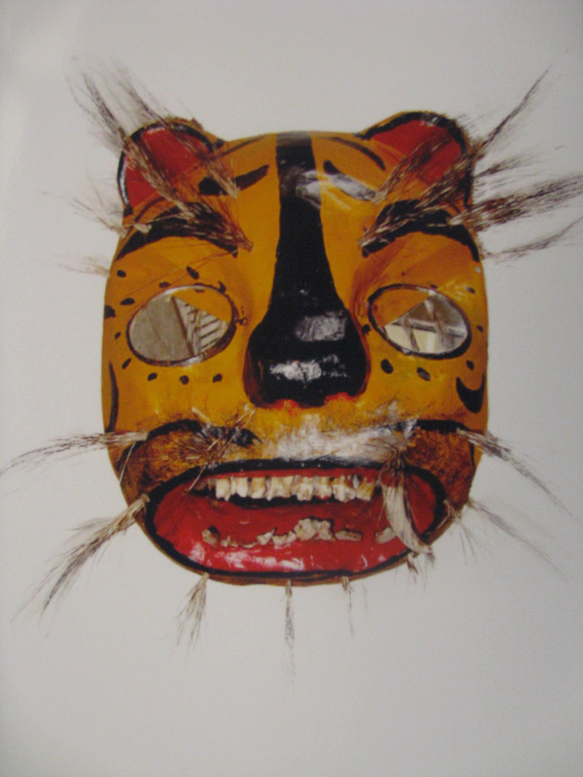 Gold Halloween Mask