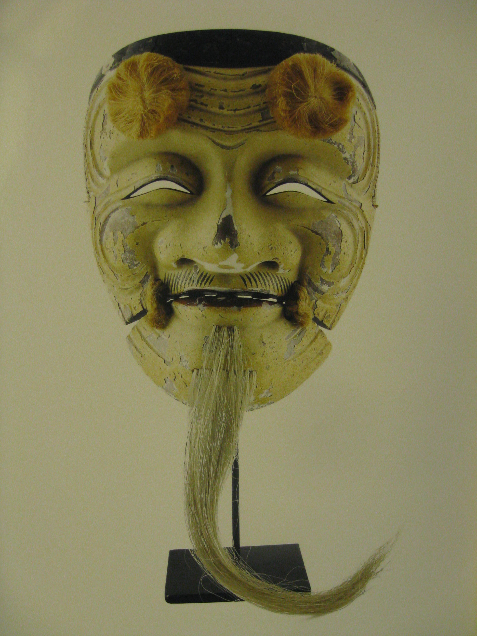 okina japanese noh mask character from the oldest japanese noh play