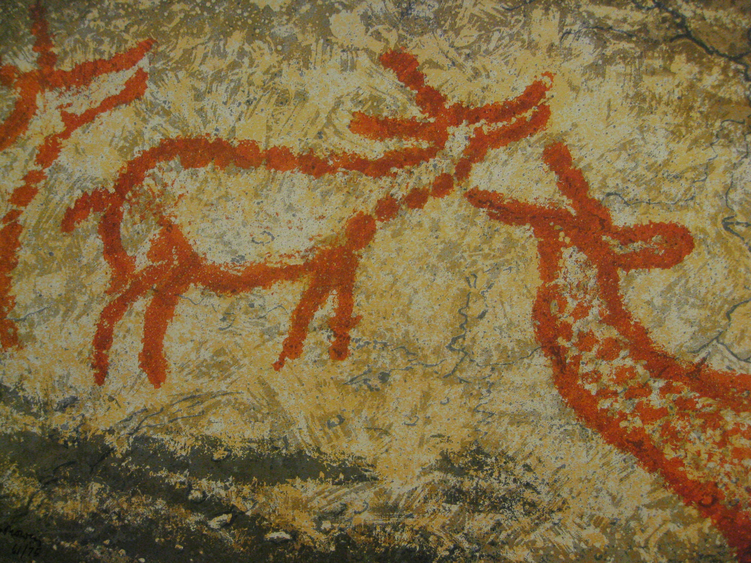 what does prehistoric art mean