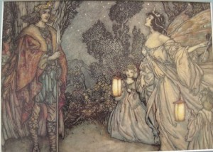 Oberon and Titania by Rackham